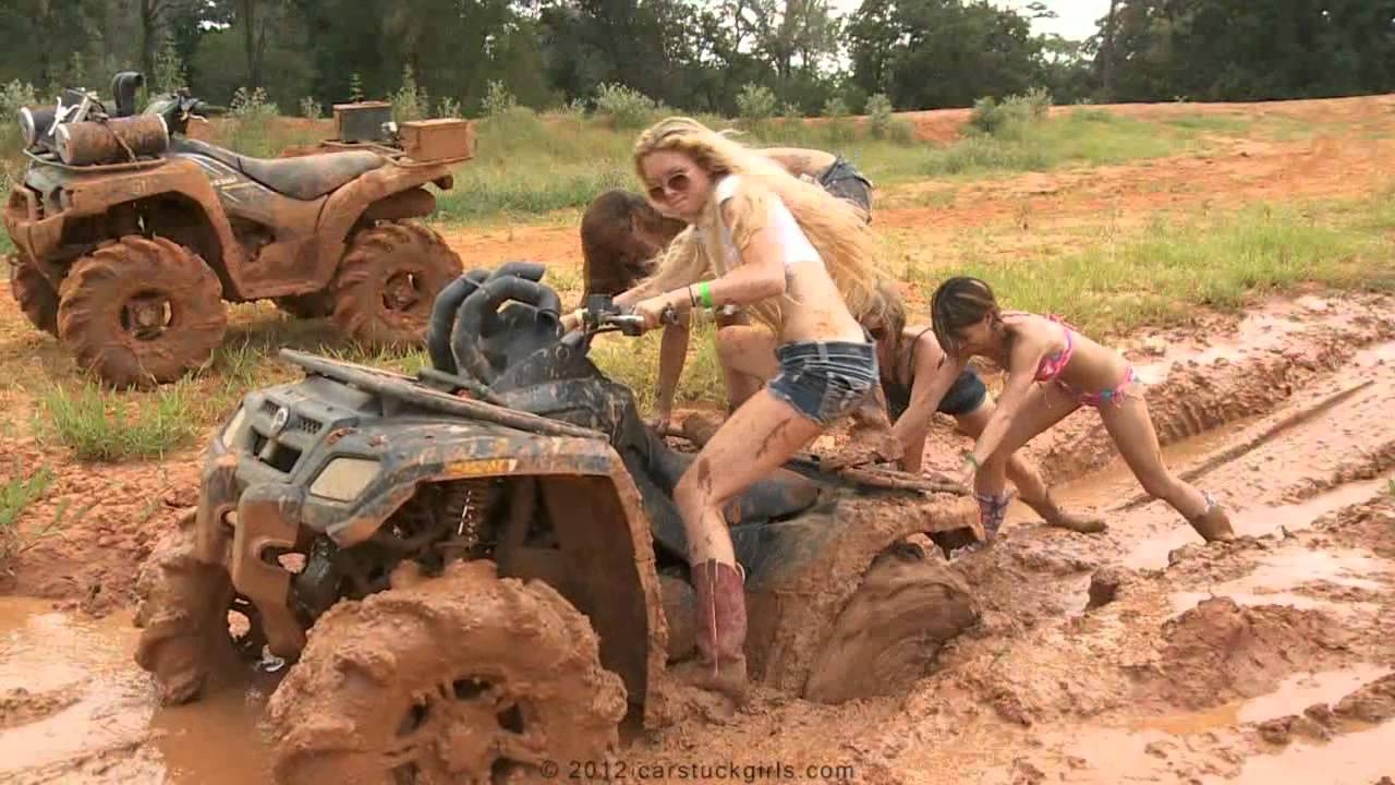 Commit car stuck girls naked