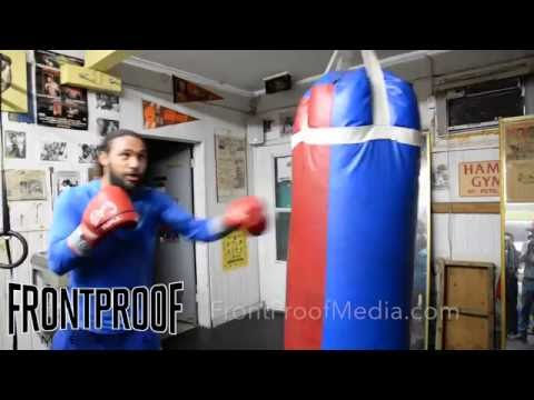 Keith Thurman speaks on why he is so confident and demonstrates his unreal punching power