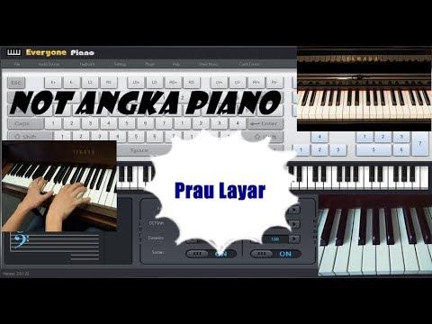 Not Angka Prau Layar