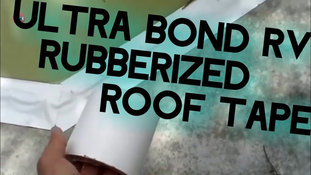 RV Roof Rubberized Tape
