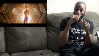 REACTION to Marvel Studios' Captain Marvel - Trailer 2