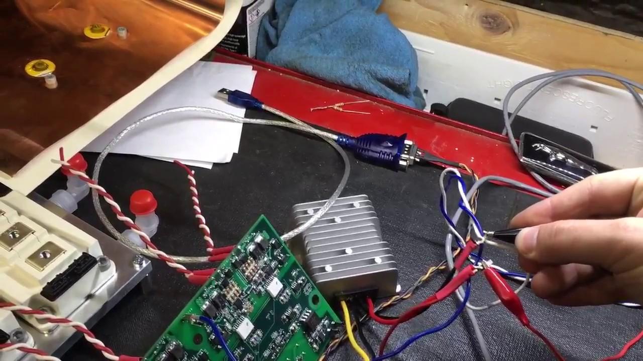 Diy 3 Phase Ac Motor Inverter On Bench Youtube Electrical Wiring