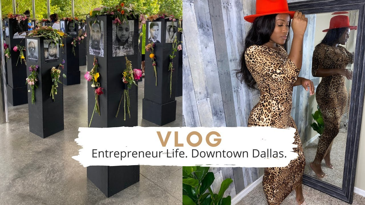 VLOG | GETTING AN OFFICE SPACE?? DOWNTOWN DALLAS