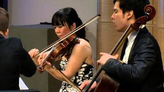 Beethoven String Quartet No. 2 in G Major,  Op. 18, No. 2 - Attacca Quartet (Live)