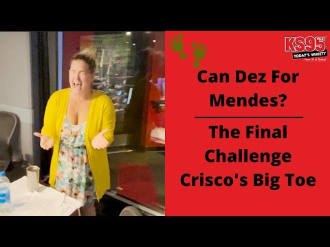 Can Dez For Mendes? The Final Challenge - Crisco's Big Toe