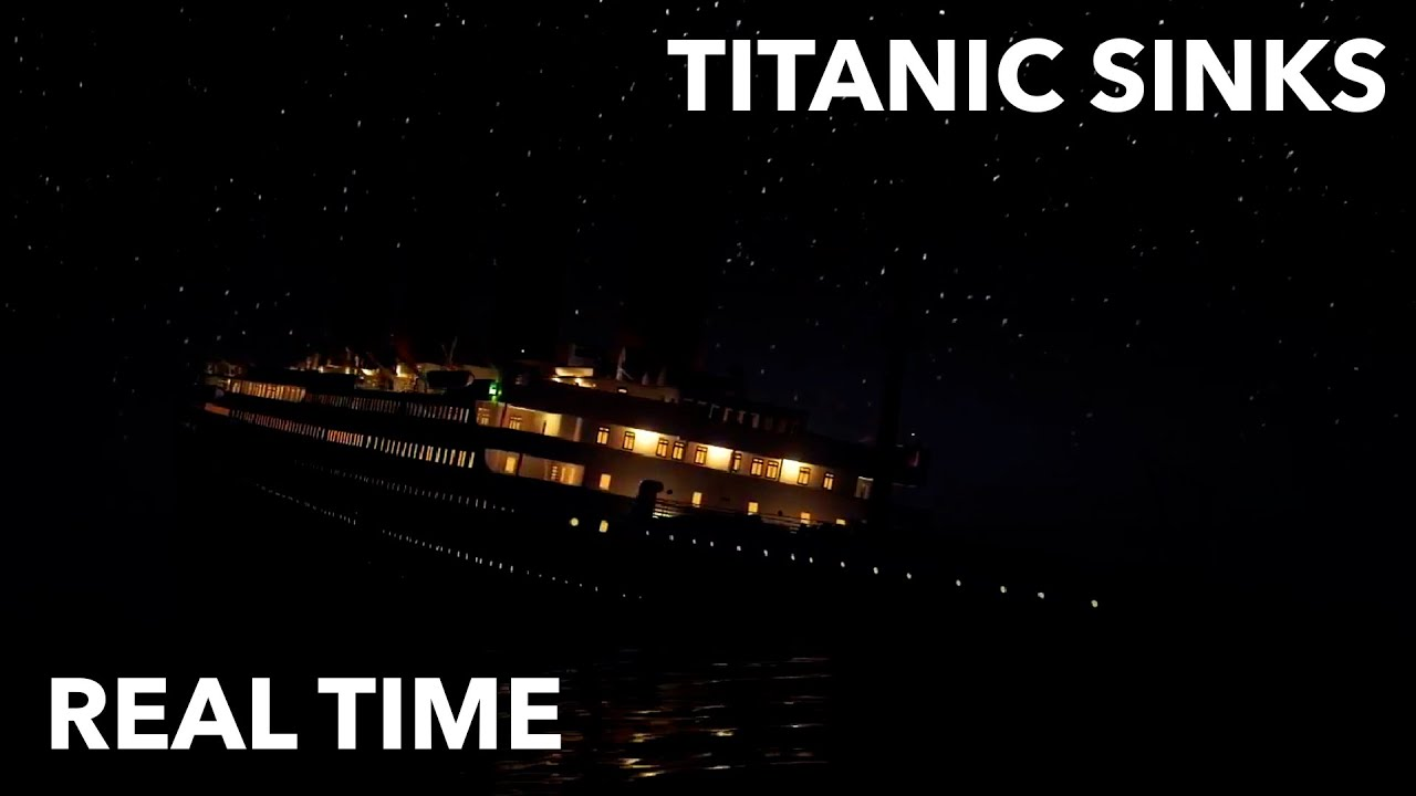 Download Titanic sinking in real time - 2 HOURS 40 MINUTES - MORSE CODE