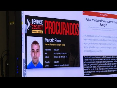 Brazil's 'most wanted' drugs suspect caught in Paraguay