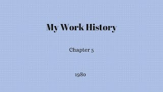 Gambar cover My Work History - Chapter 5