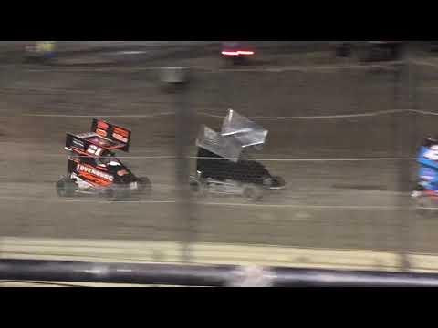 Lemoore Raceway 8/10/19 Jr Sprint Main-Cash