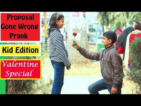 Nepali Prank - Proposal Gone Wrong Prank (Kids Edition) || Valentine Special || LNL