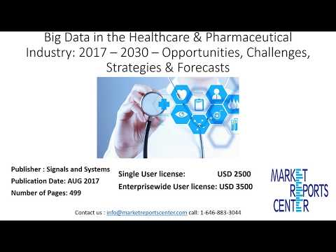 Big Data in the Healthcare & Pharmaceutical Industry 2017 – 2030