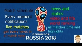 know every fifa match news and schedule by official fifa app
