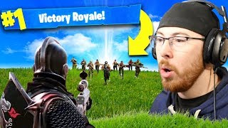 Fortnite Intense Victory Royale! (Fortnite Battle Royale)