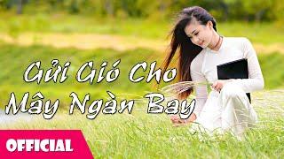 Gửi Gió Cho Mây Ngàn Bay - Thu Hà [Karaoke MV HD]