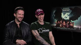 FUNNY INTERVIEW WITH 2 MOVIE STARS! (VS MOVIE)