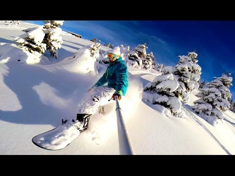 The Art of Ride – Snowboarding Off Piste Backcountry – DJI Phantom 2 GoPro Hero 3+