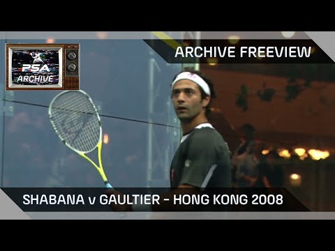 Archive Freeview - Shabana v Gaultier - 2008 Hong Kong Open Final