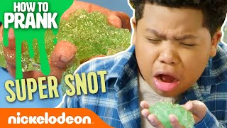 How to Prank w/ the Game Shakers: Super Snot | Nick
