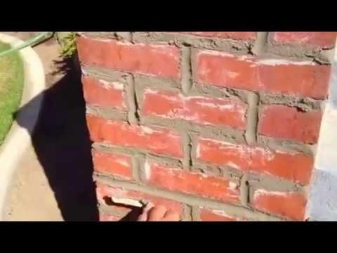Masonry Tuckpointing - Columbia SC - Chimspector Venting ... |Tuck Point Mortar Retaining Wall