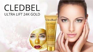 Золотая тайская маска для лица