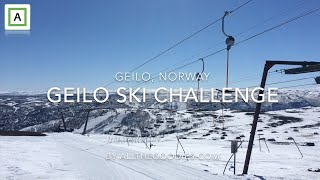 Geilo Ski Challenge  all lifts and slopes in the same day  allthegoodiescom