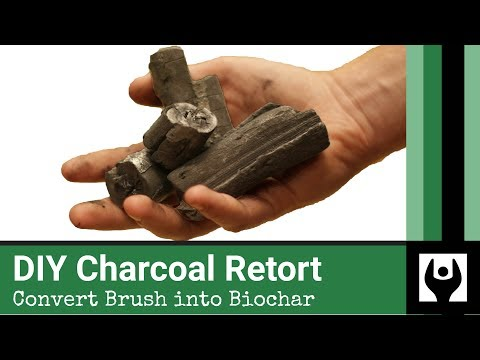 how to make homemade charcoal
