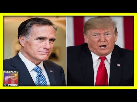 Disgraced Mitt Romney Goes On CNN & Praises GOP Rep's Call For Trump's Impeachment