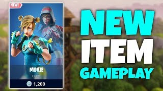NEW MOXIE Skin Gameplay | Fortnite Live