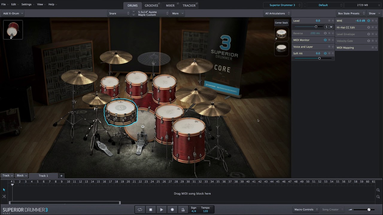 Ezdrummer Vs Superior Drummer : superior drummer 3 drums youtube ~ Russianpoet.info Haus und Dekorationen