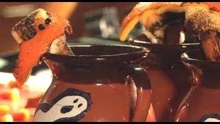 Hard Apple Cider With Orange And Marshmallow - Casserole Queens