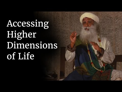 Accessing Higher Dimensions