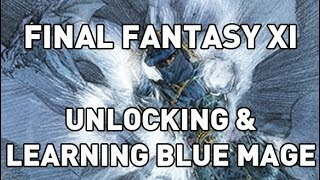 Unlocking & Learning Blue Mage in FFXI - Lets Play #43