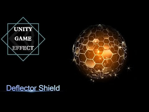 Unity Game Effect -Deflector shield