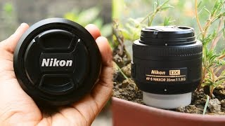Nikon AF-S DX Nikkor 35mm f 1 8G Lens Review