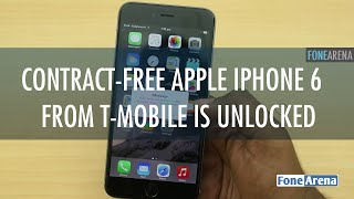 Contract-free Apple iPhone 6 Plus from T-Mobile is Unlocked