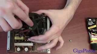 Как смазать вентилятор блока питания своими руками в домашних условиях