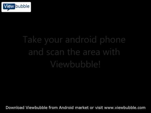 Viewbubble geolocation software for Android