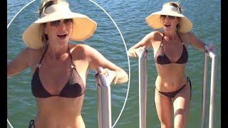 Amanda Holden, 46, Looks Incredible In A Tiny Black Bikini