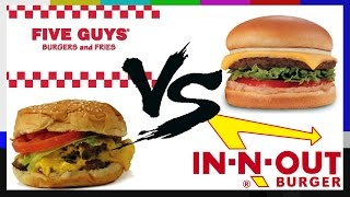 Five Guys VS In-N-Out