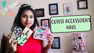 Cute Phone Accessories Haul - Cute Things under Rs 100 or 1$ | AdityIyer - Haulbyadity