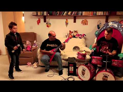 Metal Mash Up Part 2 on Pink Kiddie Instruments: Vocal Auditions