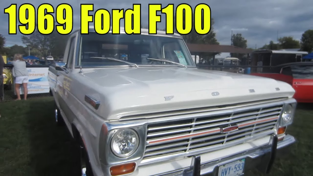 1969 ford f100 with 302