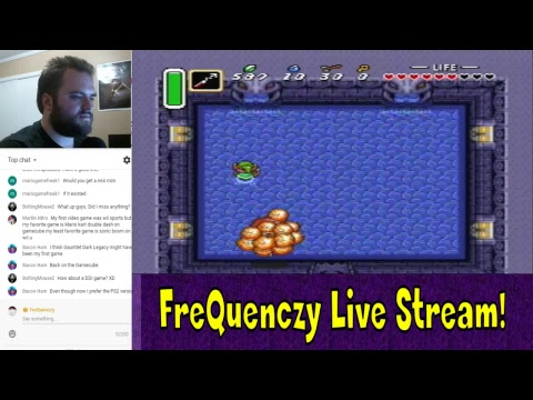 FreQuenczy Live! ZELDA - A LINK TO THE PAST | INTO THE DARK WORLD!