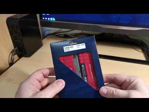 ОНЛАЙН ТРЕЙД.РУ Оперативная память Crucial  32Gb (2x16Gb) 3600 Mhz  Ballistix Red BL2K16G36C16U4R
