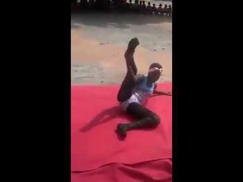 The first ballet dancer in Ghana