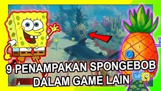 9 Penampakan SPONGEBOB Dalam Game Lain | Easter Eggs Spongebob Indonesia