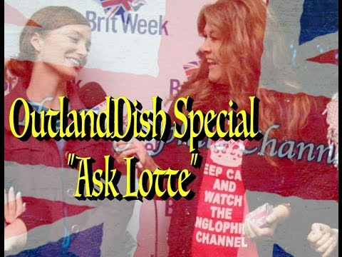 Outlander's Lotte Verbeek  OutlandDish© SPECIAL   Surprises  During Britweek Los Angeles