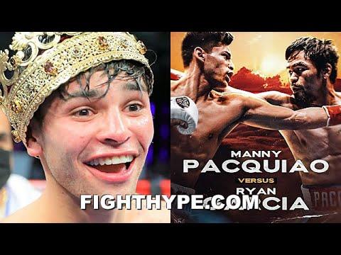Ryan Garcia announces 'dream' Manny Pacquiao fight
