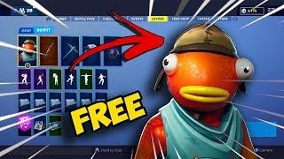 How to get FREE skins in FORTNITE?!