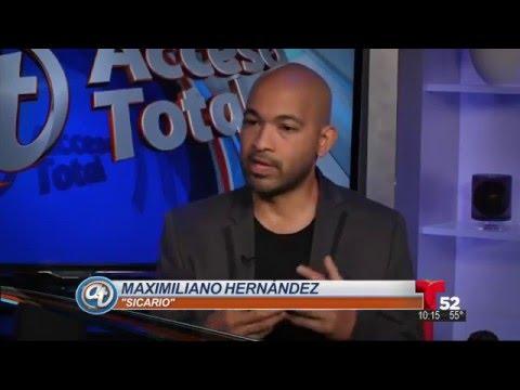 Maximiliano Hernandez en Sicario
